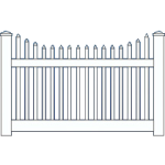 Privacy Semi Private Amp Picket Fence Choices A Fence Utah
