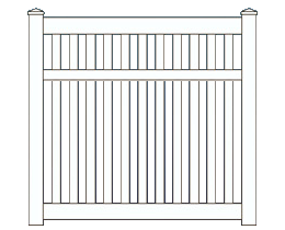 Belaire Fence