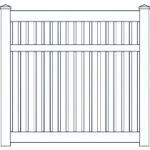 Belaire Narrow Fence