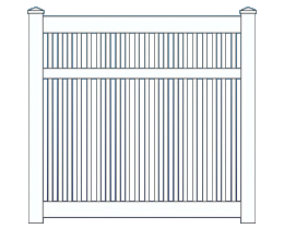Capri Medium Fence