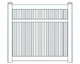 Capri Narrow Fence