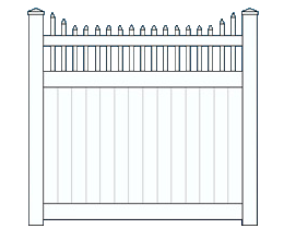New England Top Fence